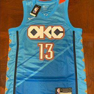 Paul George OKC Nike Jersey size M